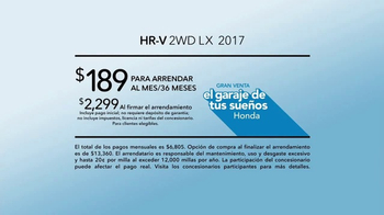Gran Venta el Garaje de tus Sueños Honda TV Spot, 'Art Project' [Spanish] [T2] - Thumbnail 7