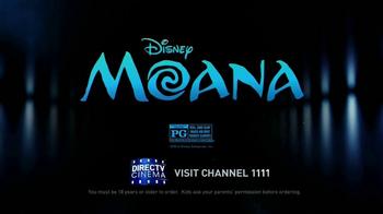 DIRECTV Cinema TV Spot, 'Moana' - Thumbnail 8