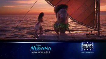 DIRECTV Cinema TV Spot, 'Moana' - Thumbnail 2