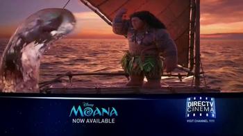 DIRECTV Cinema TV Spot, 'Moana' - Thumbnail 3