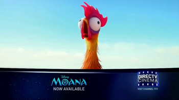 DIRECTV Cinema TV Spot, 'Moana' - Thumbnail 4