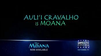 DIRECTV Cinema TV Spot, 'Moana' - Thumbnail 5