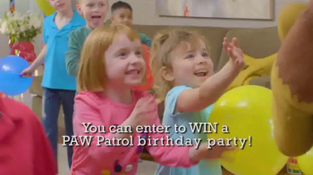PAW Patrol Mission Paw Giveaway TV Spot, 'Birthday Party'