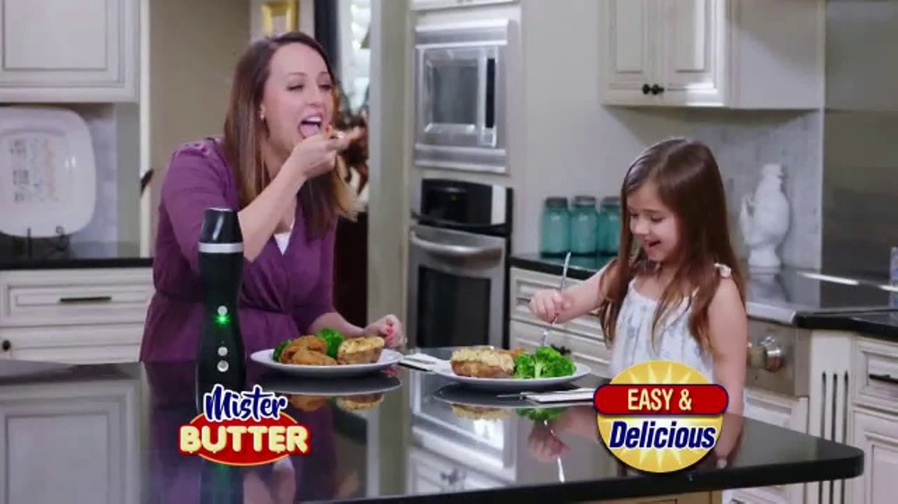 Mister Butter TV Commercial, 'Spray and Spritz' - iSpot.tv
