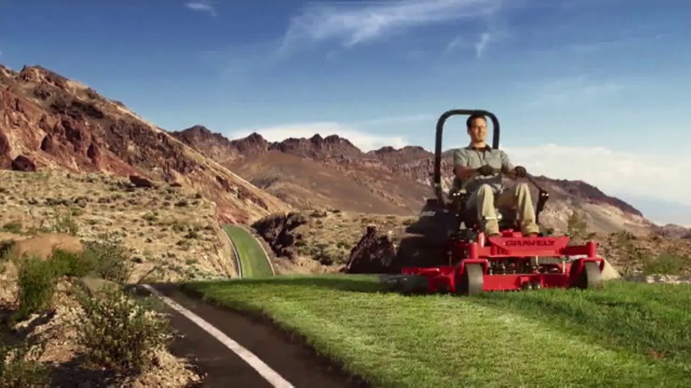Gravely Commercial Zero-Turn Series TV Commercial, 'Mow the Distance'