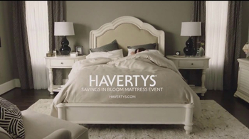 Havertys Savings In Bloom Mattress Event TV Spot, 'Name Brands' - Thumbnail 7