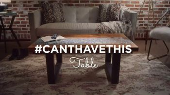 HomeGoods TV Spot, 'Can't Have This: Table' - 796 commercial airings