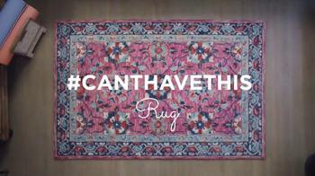 HomeGoods TV Spot, '#CantHaveThisRug' - Thumbnail 1
