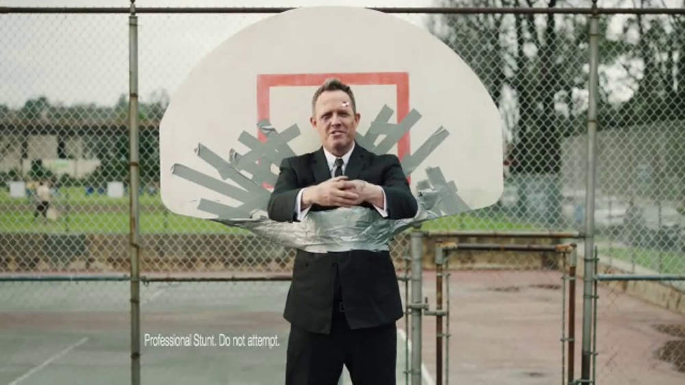Allstate Accident Forgiveness TV Commercial, 'March Mayhem: Hoop' Ft Dean Winters