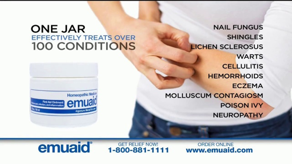 Emuaid First Aid Ointment Tv Commercial Severe Skin And Nail