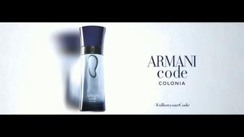 Giorgio Armani Code Colonia TV Spot, 'Camisas' con Chris Pine [Spanish] - Thumbnail 7