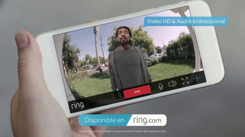 Ring Video Doorbell TV Spot, 'Podar los árboles' [Spanish]