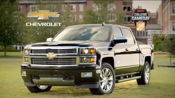 Chevrolet Silverado TV Spot, 'Who's Driving: ESPN College Gameday' - Thumbnail 8
