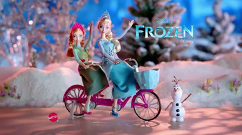 Disney Frozen Anna and Elsa's Musical Bicycle TV Spot, 'A Bike That Sings'