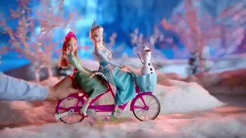 Disney Frozen Anna and Elsa's Musical Bicycle TV Spot, 'A Bike That Sings' - Thumbnail 3