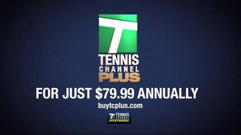 Tennis Channel Plus TV Spot, 'Top Matches' - Thumbnail 7