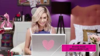 CoverGirl TV Spot, 'MTV: Amanda Steele's MTV Video Music Awards Makeup' - Thumbnail 1