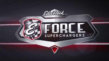 Edelbrock E-Force Supercharger TV Spot, 'Limited Powertrain Warranty'
