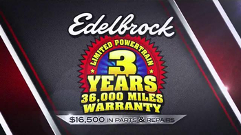 Edelbrock E-Force Supercharger TV Spot, 'Limited Powertrain Warranty' - Thumbnail 3