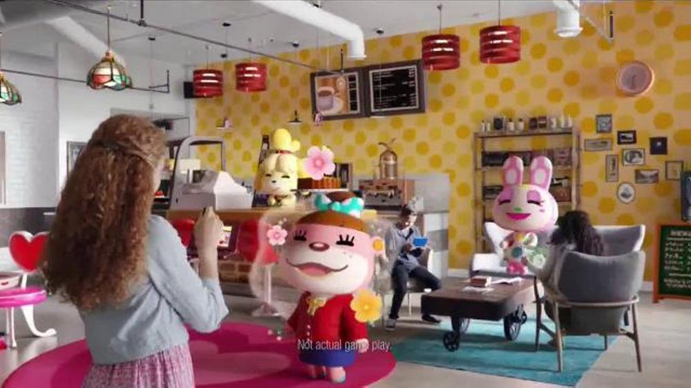 Animal Crossing: Happy Home Designer TV Commercial, \'Design Inside ...