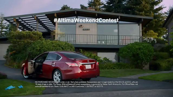 Nissan Altima TV Spot, 'Weekend Contest' Ft. Desmond Howard, Song by Deorro - Thumbnail 6