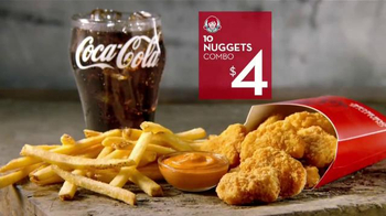 Wendy's 10 Nuggets Combo TV Spot, 'Más para cuatro' [Spanish] - Thumbnail 9