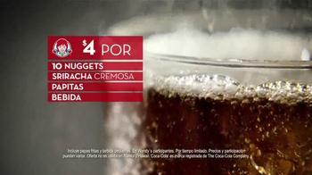 Wendy's 10 Nuggets Combo TV Spot, 'Más para cuatro' [Spanish] - Thumbnail 5