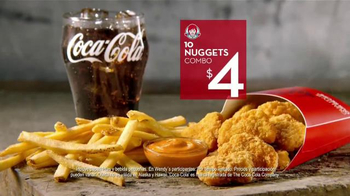 Wendy's 10 Nuggets Combo TV Spot, 'Más para cuatro' [Spanish] - Thumbnail 6