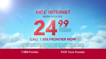Frontier FiOS Internet TV Spot, 'Rocket Launch' - Thumbnail 9