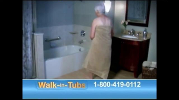 Safe Step Walk-in Tubs TV Spot, 'Accidents No More' - Thumbnail 1
