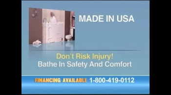 Safe Step Walk-in Tubs TV Spot, 'Accidents No More' - Thumbnail 10