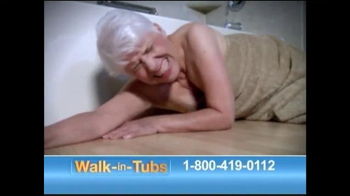 Safe Step Walk-in Tubs TV Spot, 'Accidents No More' - Thumbnail 3