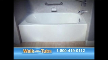 Safe Step Walk-in Tubs TV Spot, 'Accidents No More' - Thumbnail 4