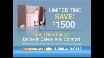 Safe Step Walk-in Tubs TV Spot, 'Accidents No More' - Thumbnail 8