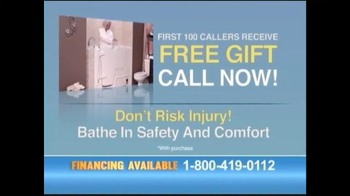 Safe Step Walk-in Tubs TV Spot, 'Accidents No More' - Thumbnail 9