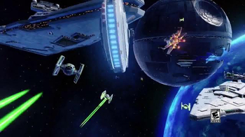 Disney Infinity 3.0 Star Wars Playsets TV Spot, 'Speaking Star Wars' - Thumbnail 1