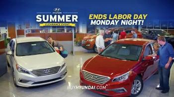 Hyundai Summer Clearance Event TV Spot, 'Deals: Extended' - Thumbnail 10
