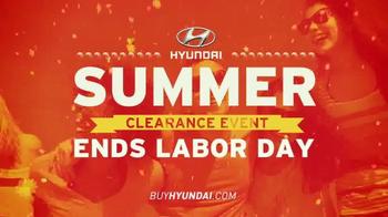 Hyundai Summer Clearance Event TV Spot, 'Deals: Extended' - Thumbnail 2