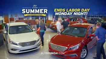 Hyundai Summer Clearance Event TV Spot, 'Deals: Extended' - Thumbnail 9