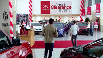 Toyota Annual Clearance Event TV Spot, 'Final Days' - Thumbnail 1