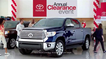 Toyota Annual Clearance Event TV Spot, 'Final Days' - Thumbnail 2