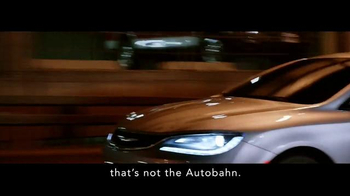 2015 Chrysler 200 TV Spot, 'German Performance: Worthy of the Autobahn' - Thumbnail 4