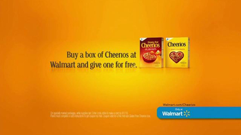 Cheerios TV Spot, 'Buy One, Give One at Walmart'
