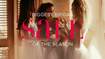 David's Bridal Biggest Bridal Sale TV Spot, 'It's Time'