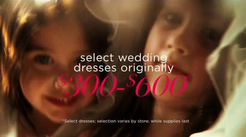 David's Bridal Biggest Bridal Sale TV Spot, 'It's Time' - Thumbnail 2