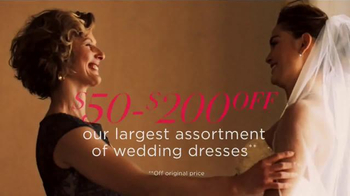 David's Bridal Biggest Bridal Sale TV Spot, 'It's Time' - Thumbnail 5