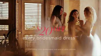 David's Bridal Biggest Bridal Sale TV Spot, 'It's Time' - Thumbnail 6