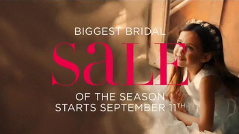 David's Bridal Biggest Bridal Sale TV Spot, 'It's Time' - Thumbnail 8