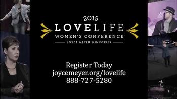 Joyce Meyer Ministries TV Spot, 'Love Life Women's Conference' - Thumbnail 6