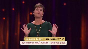Joyce Meyer Ministries TV Spot, 'Love Life Women's Conference' - Thumbnail 3